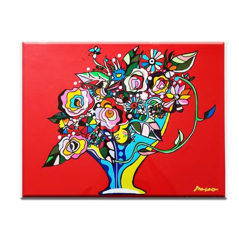 「赤い花束」