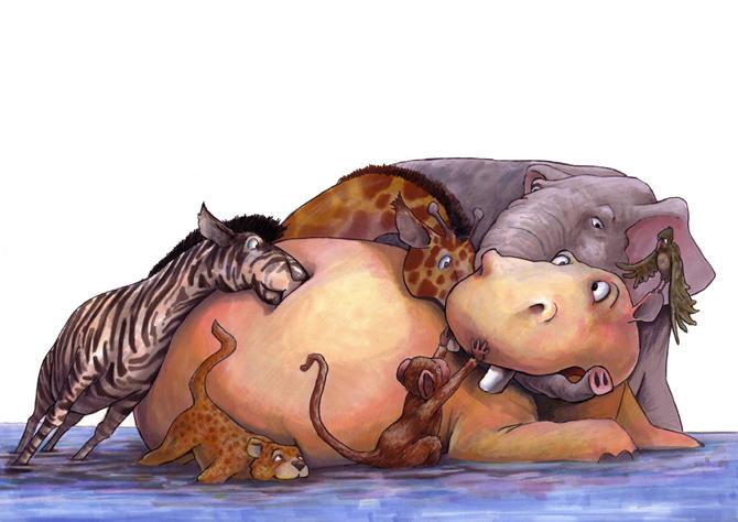 Hippo Goes Bananas