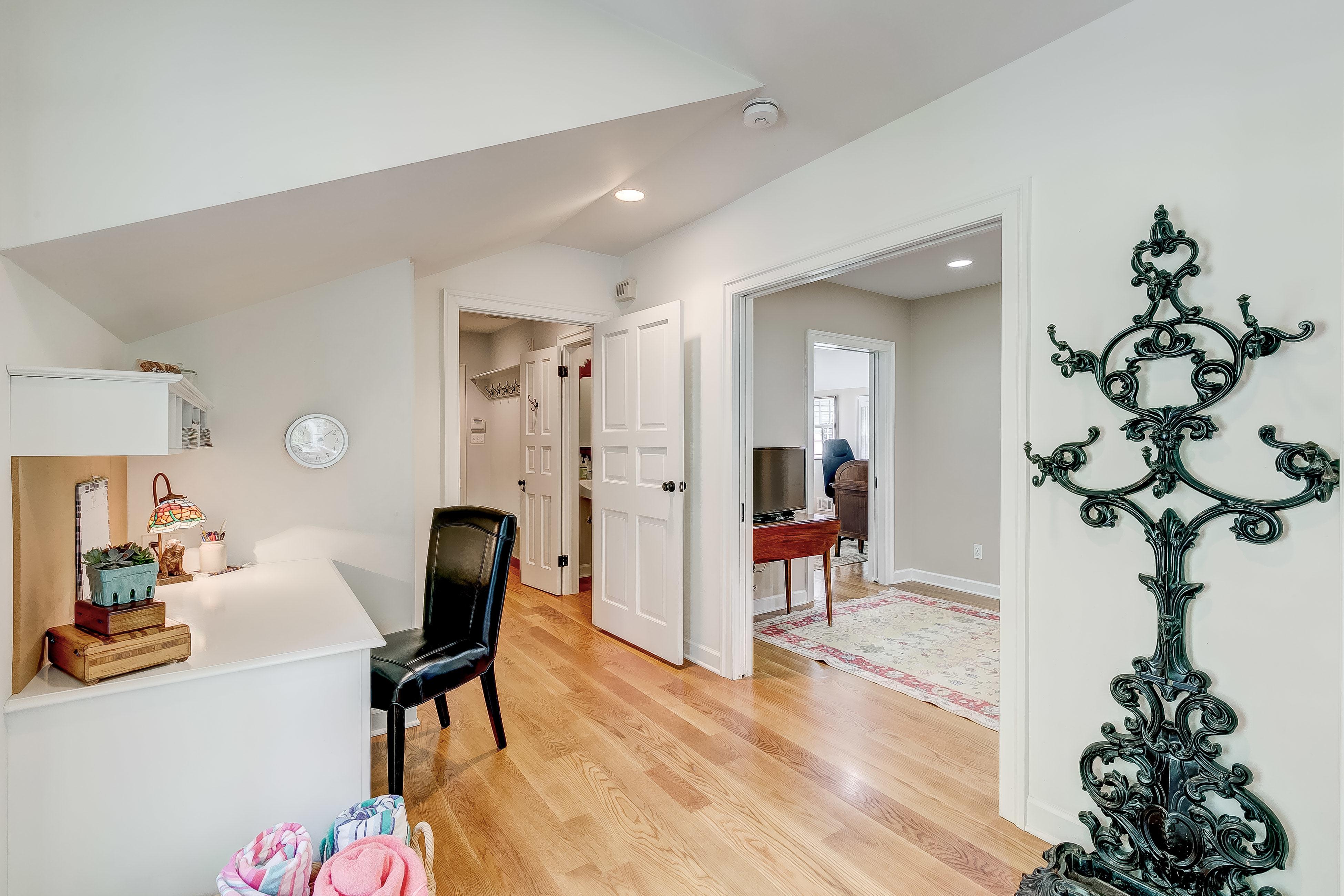 Door to in-law suite