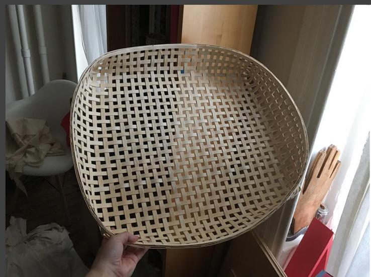 Making baskets!