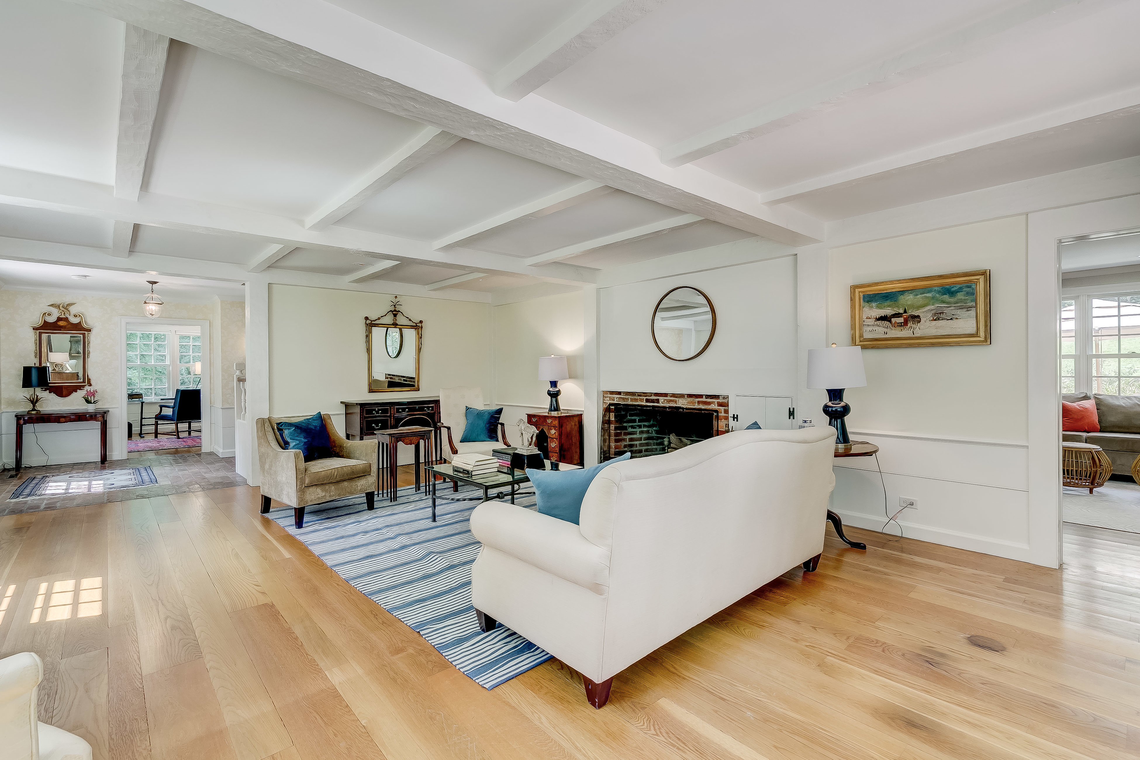 View to hall and master sitting room