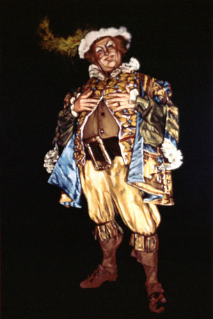 Norman Mittleman as Falstaff