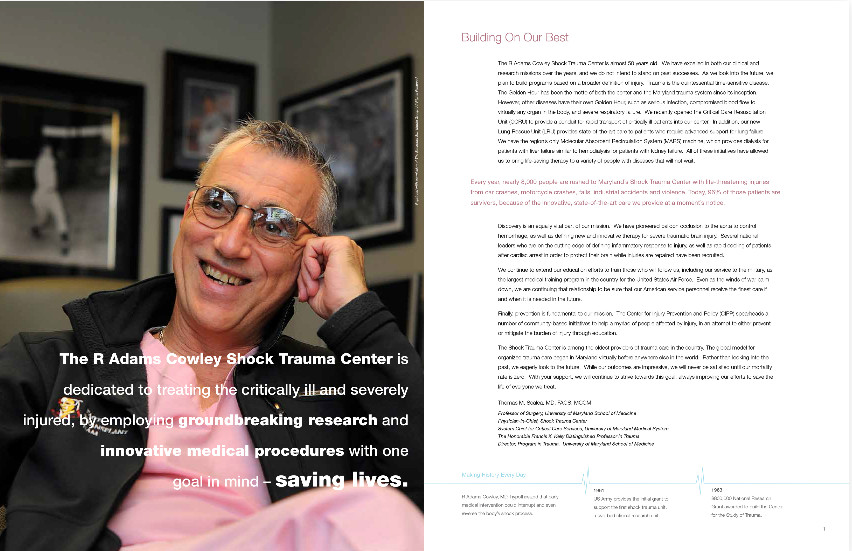 Shock Trauma Annual Report text