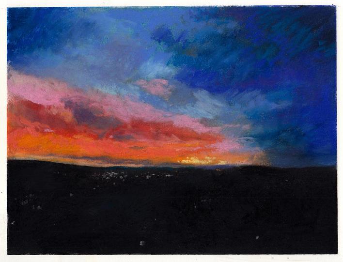 Blue/Orange Sunset