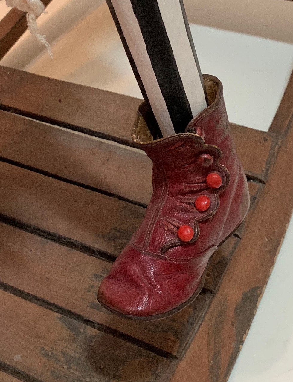 Grandfather's boots