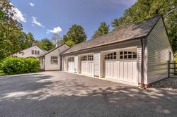 3 car garage with room for workshop