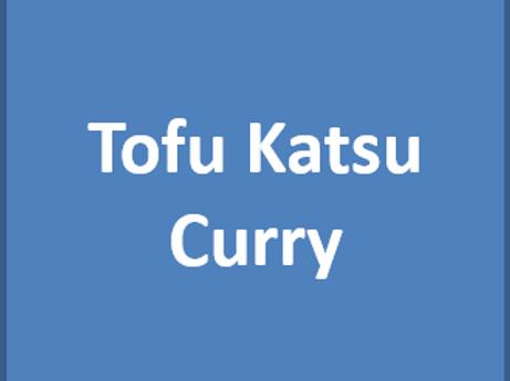 Tue. 6/8/21 - Tofu Katsu Curry