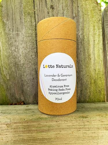 Lavender & Geranium Deodorant