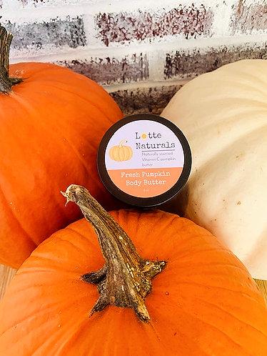 Fresh Vanilla Pumpkin Body Butter