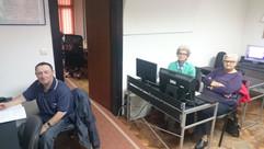 Workshop with eldery