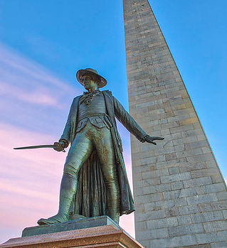 bunker-hill-monument-and-william-prescot