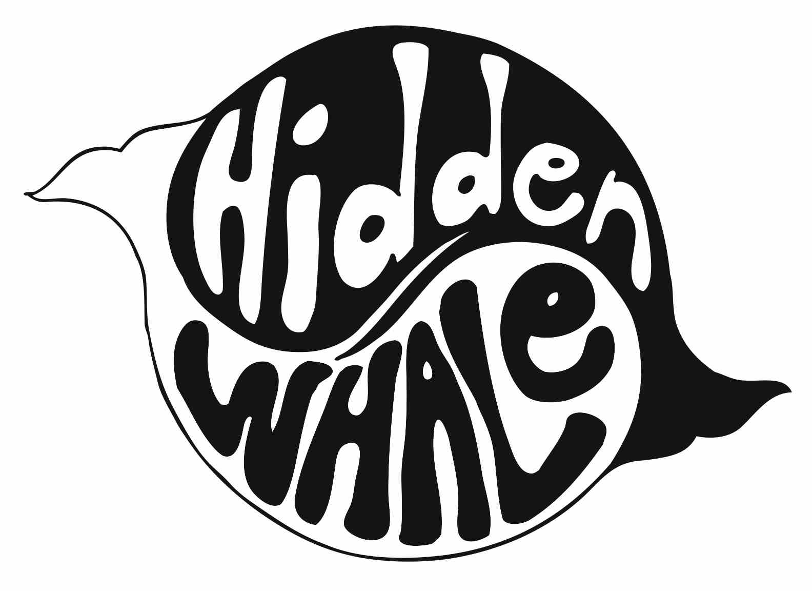 Hidden Whale Logo © Angela Gabriel
