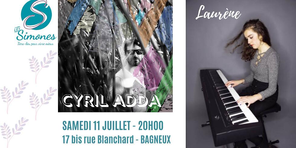 Concert au Jardin // Cyril Adda + Laurène
