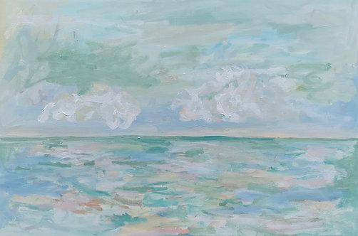 """Ocean Light XVI"" Print"