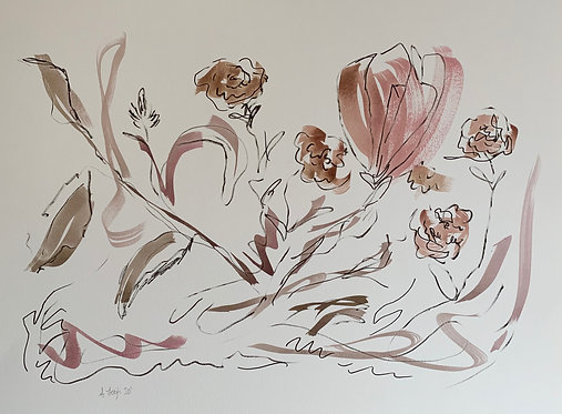 """""""Lines and Flowers I"""""""