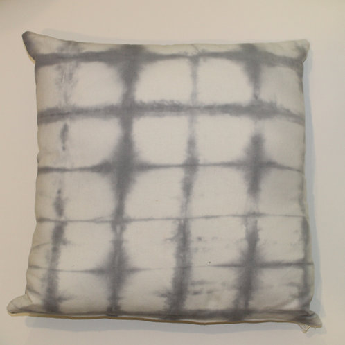 Cool Gray Shibori Grid