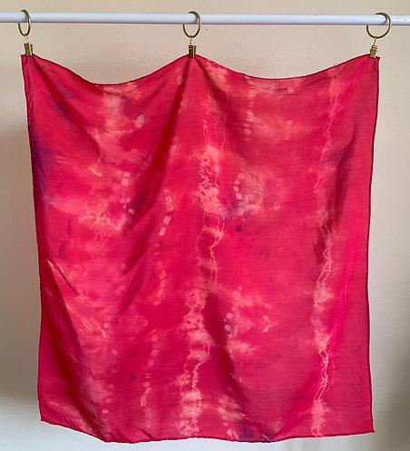"""""""Hot Pink""""-- Silk Scarf--Valentine's Gift Box"""