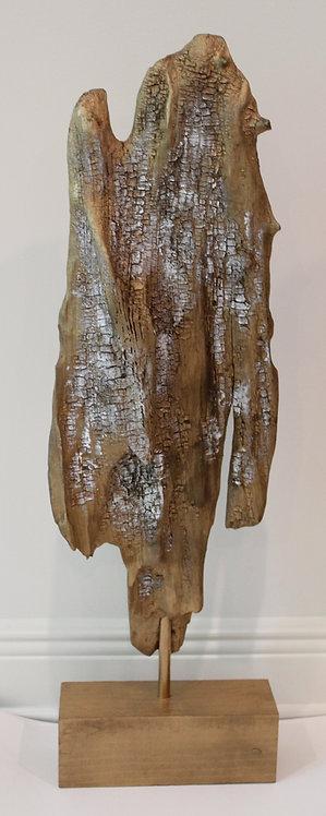 Large Gold Driftwood Sculpture
