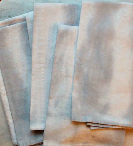 Blue Gray Napkins Set of 6