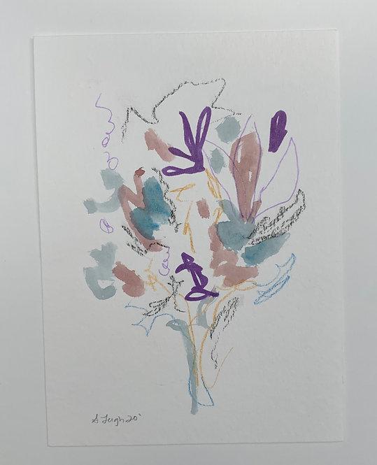 """""""Purple Floral"""""""