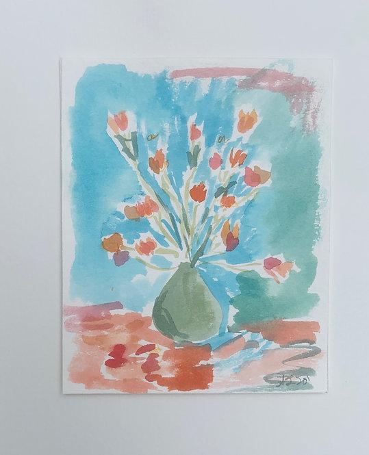 """Colorful Tulip"""