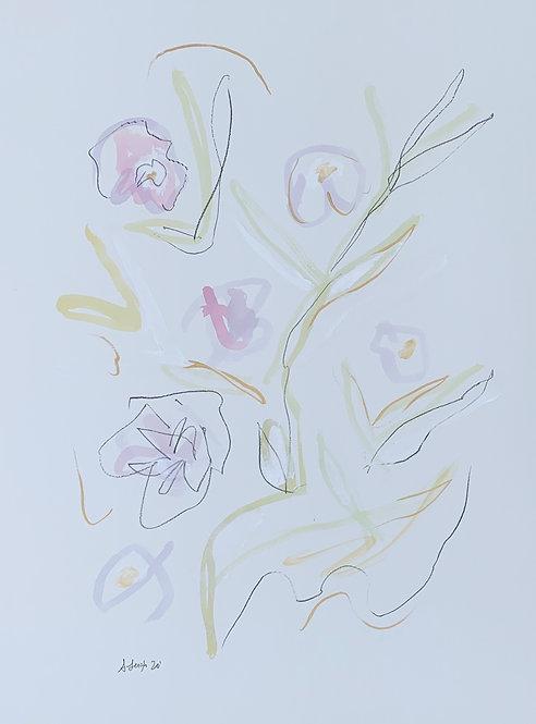 """""""Lavender Florals II"""""""