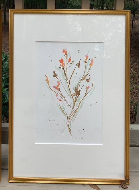 """Peachy Floral II"""