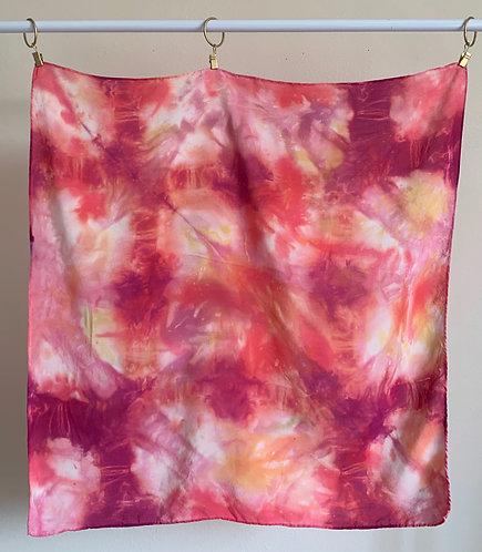 """""""Sunset""""-- Silk Scarf--Valentine's Gift Box"""