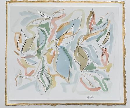 """""""Colorful Magnolia Leaves"""""""