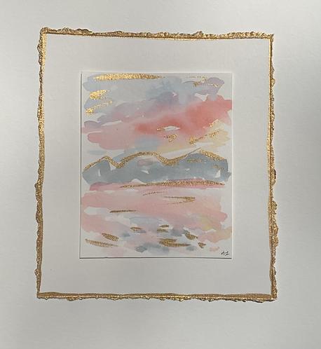"""Orange Beach Sunset II"""