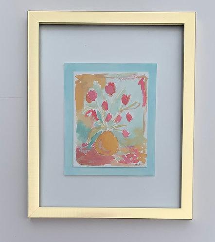 """Pink Tulips II""-----Valentine's Gift Box"