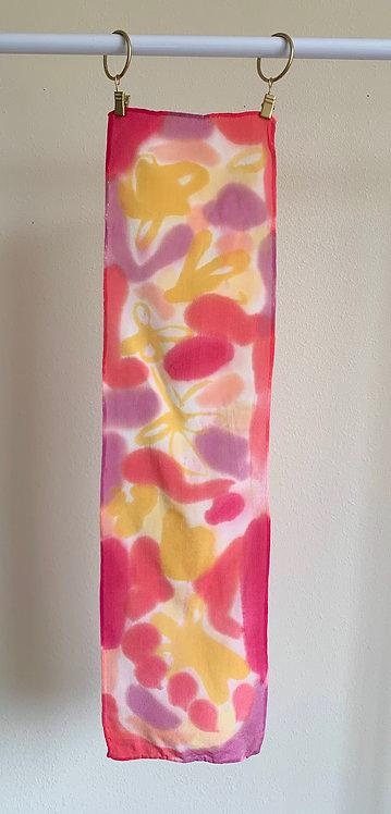 """Roses & Buttercups""--Mini Scarf--Valentine's Gift Box"