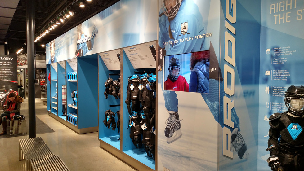 Bauer Own The Moment Concept Store