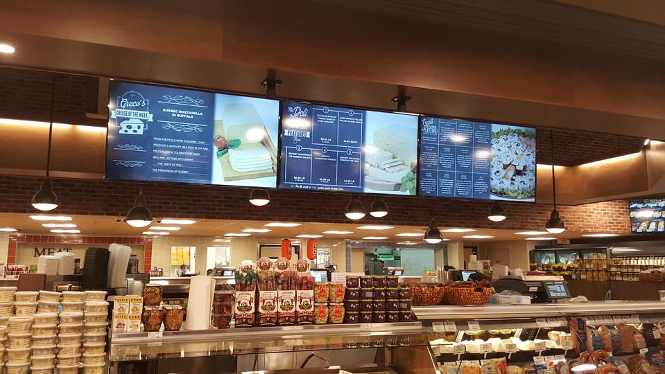 Concord Food Market - Menu Boards
