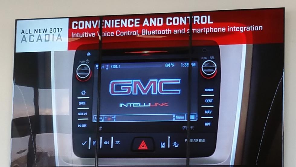 General Motors - 1X3 Video Wall Portrait