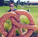 Our giant pretzel will be out ALL WEEKEN