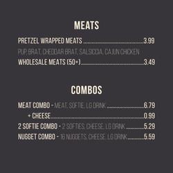 Menu 2021 Meats