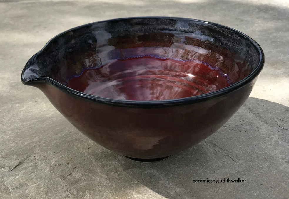 Fire and Ice mixing/pouring bowl