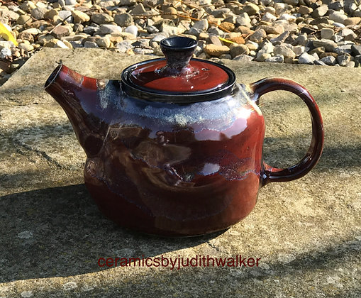 'Fire & Ice' 'when life's a bit...' teapot