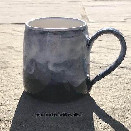 'Teesdale in the Mist' mug