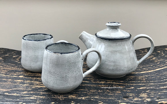 'Going Grey' Teapot