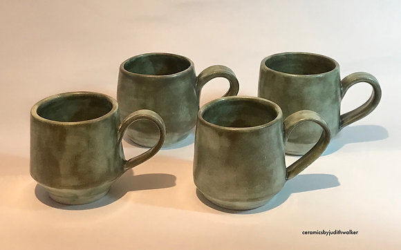ceramics by judith walker - handmade stoneware ceramic espresso cups / yunomi - drink from, cook in, admire -art for everyday