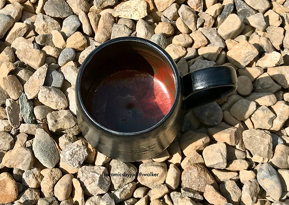 ceramics by judith walker - handmade stoneware ceramic mug - drink from, cook in, admire - art for everyday
