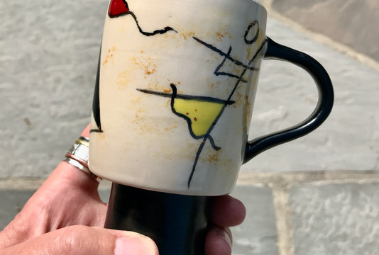 Down *** Not Out Mug