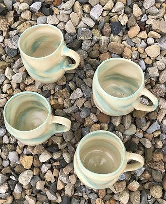 'Art Deco' 'when life's a bit...' mugs