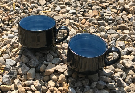 Black & Blue mugs