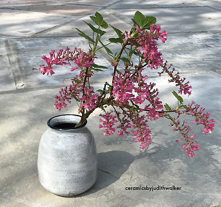 ceramics by judith walker - hand-thrown stoneware ceramic vase - art for everyday