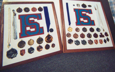 High School Medals and Letter