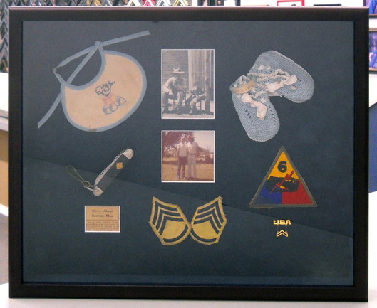 Baby to Man Shadow Box