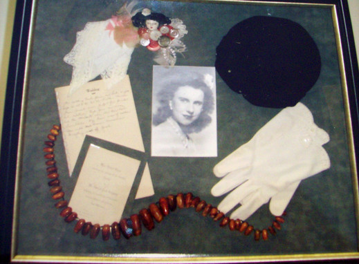 Gloves, Hat, Necklace